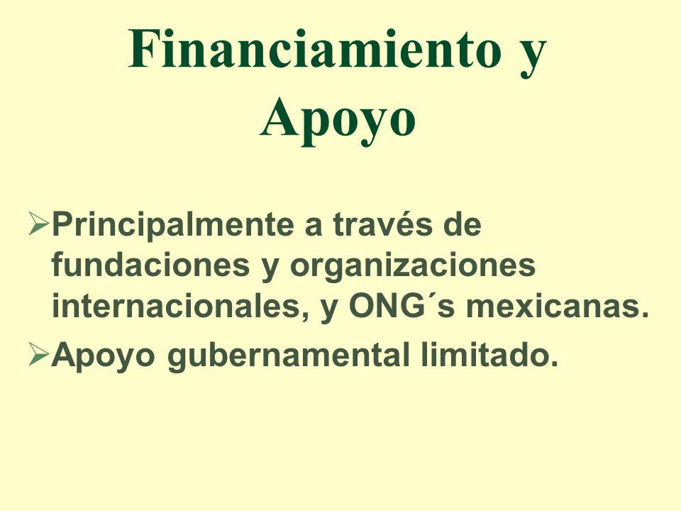 Financiamiento y Apoyo