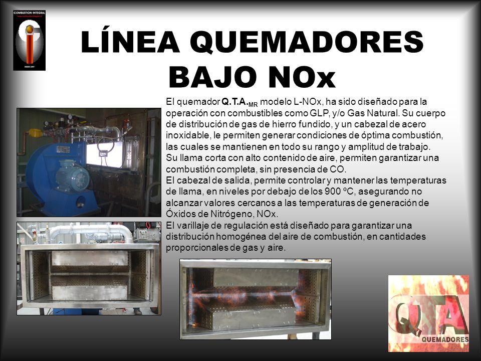 LÍNEA QUEMADORES BAJO NOx