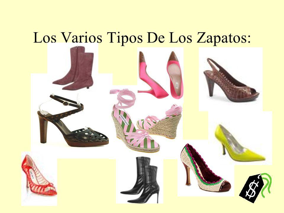 Los Varios Tipos De Los Zapatos: