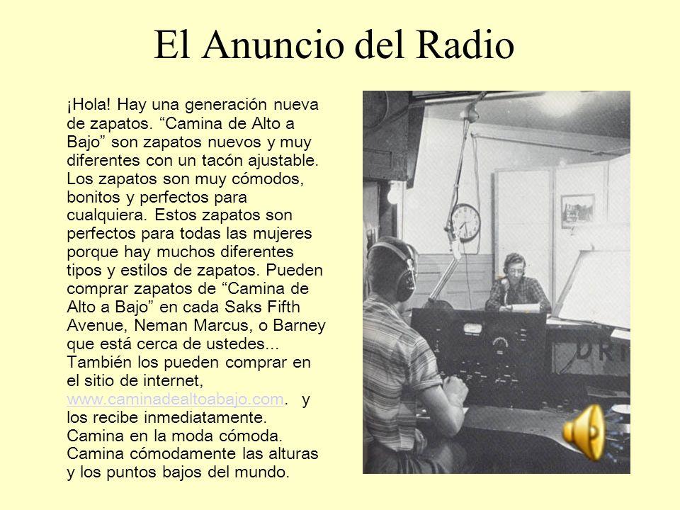 El Anuncio del Radio