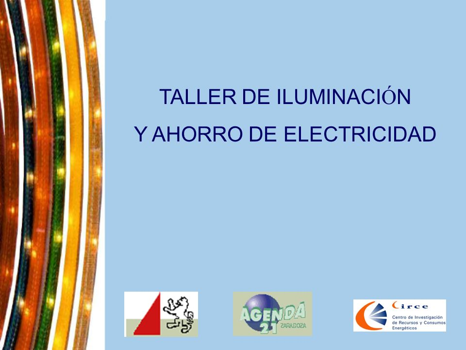 Y AHORRO DE ELECTRICIDAD