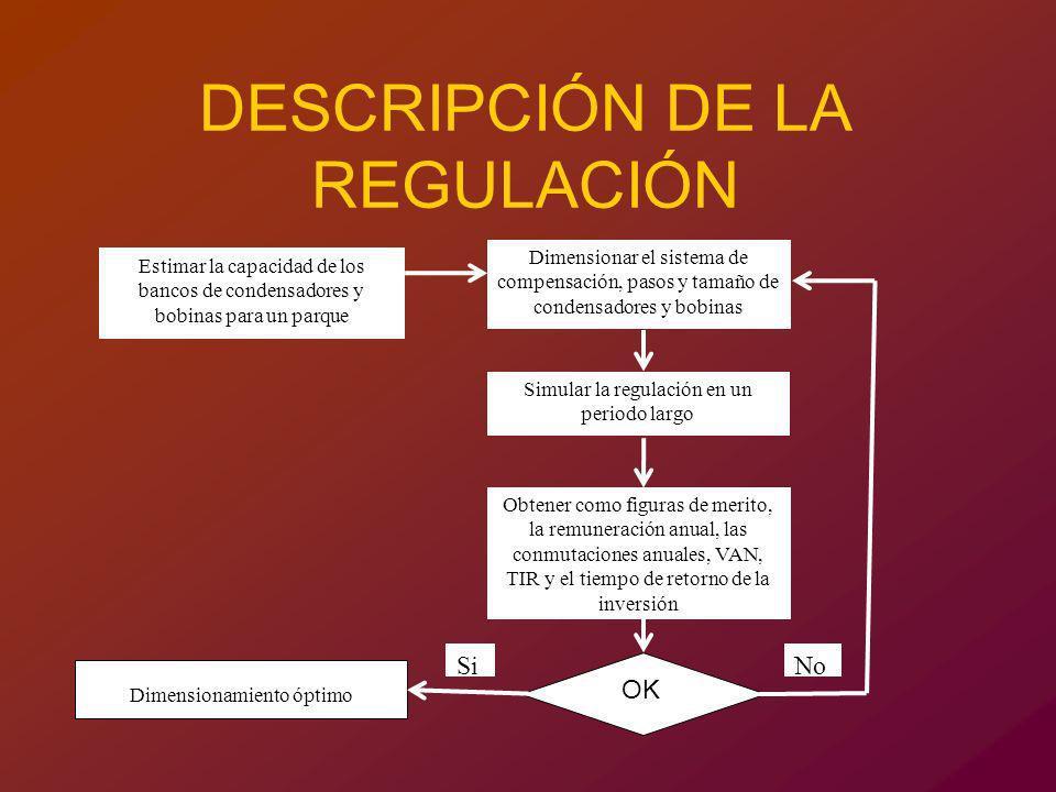 DESCRIPCIÓN DE LA REGULACIÓN