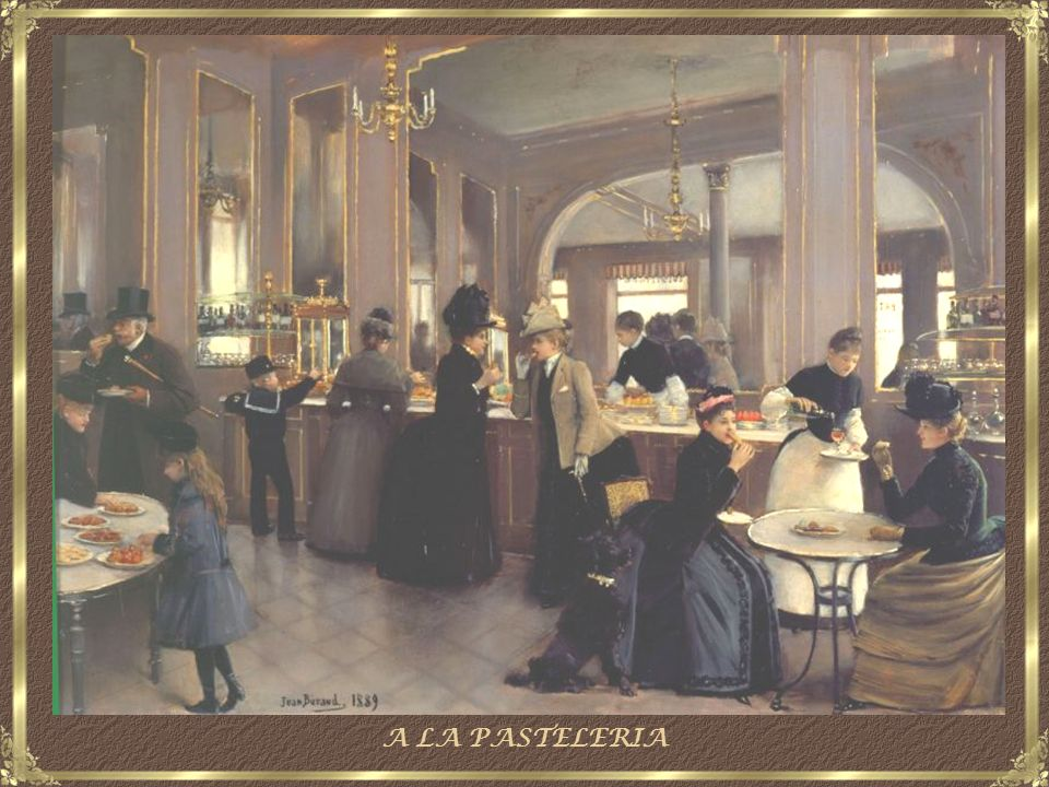A LA PASTELERIA
