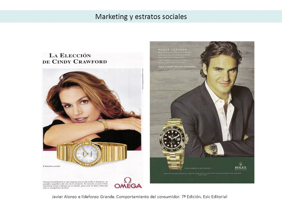 Marketing y estratos sociales
