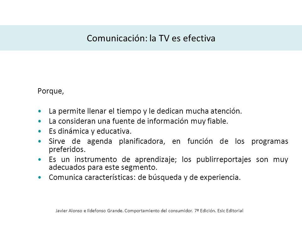 Comunicación: la TV es efectiva