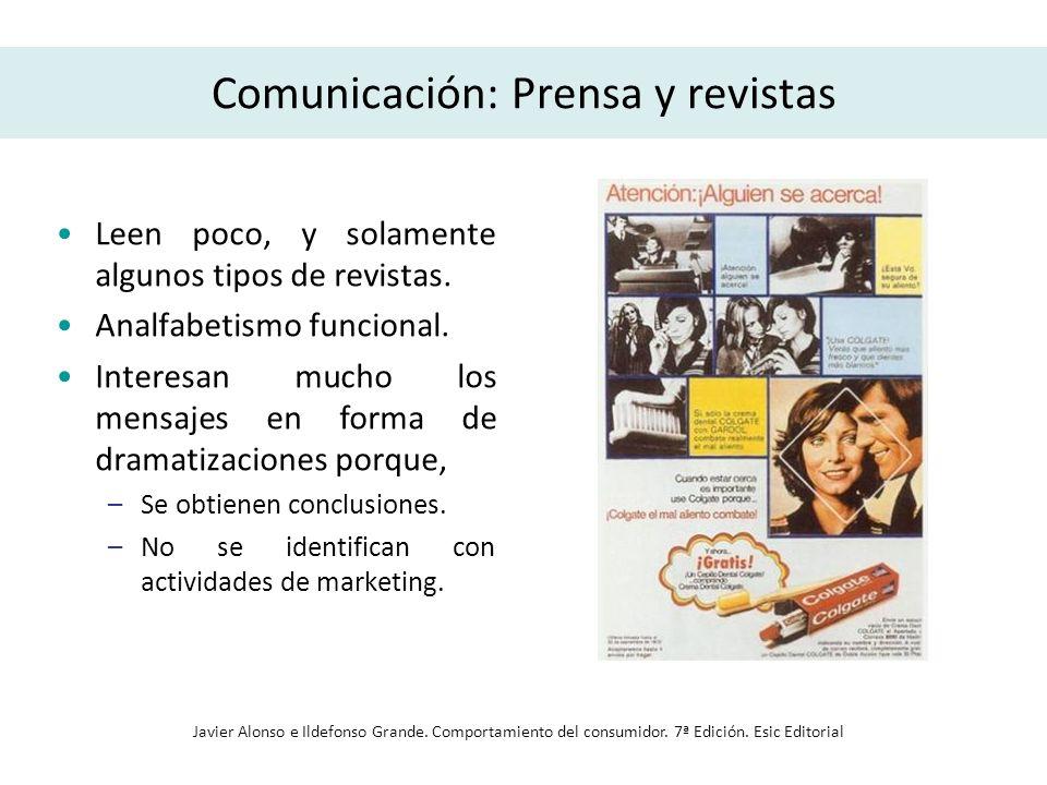 Comunicación: Prensa y revistas
