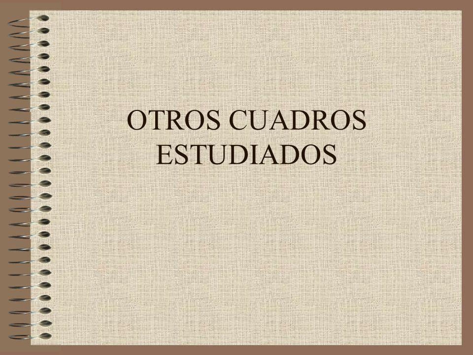 OTROS CUADROS ESTUDIADOS