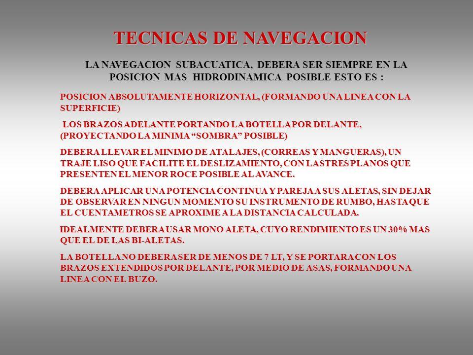 TECNICAS DE NAVEGACION