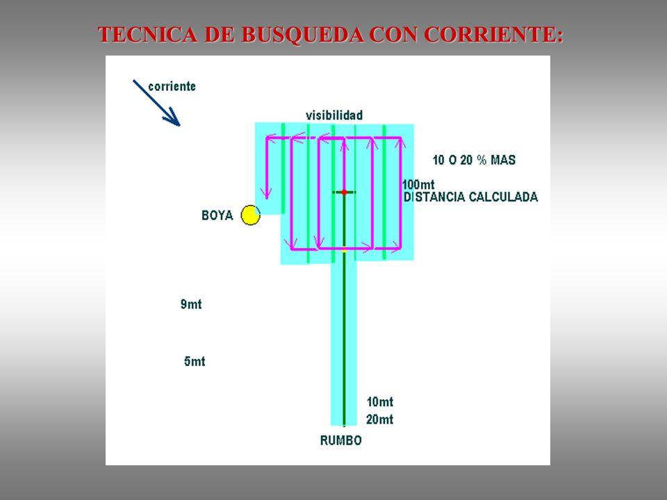 TECNICA DE BUSQUEDA CON CORRIENTE: