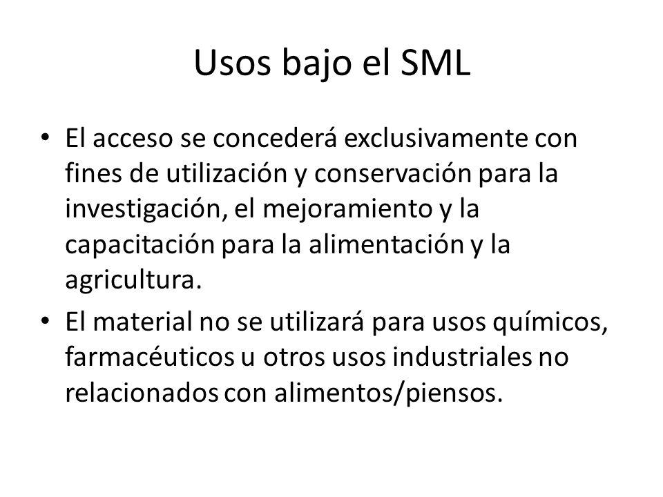 Usos bajo el SML