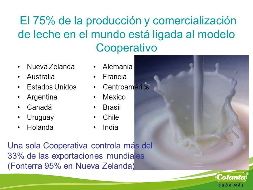 El 75% de la producción y comercialización de leche en el mundo está ligada al modelo Cooperativo