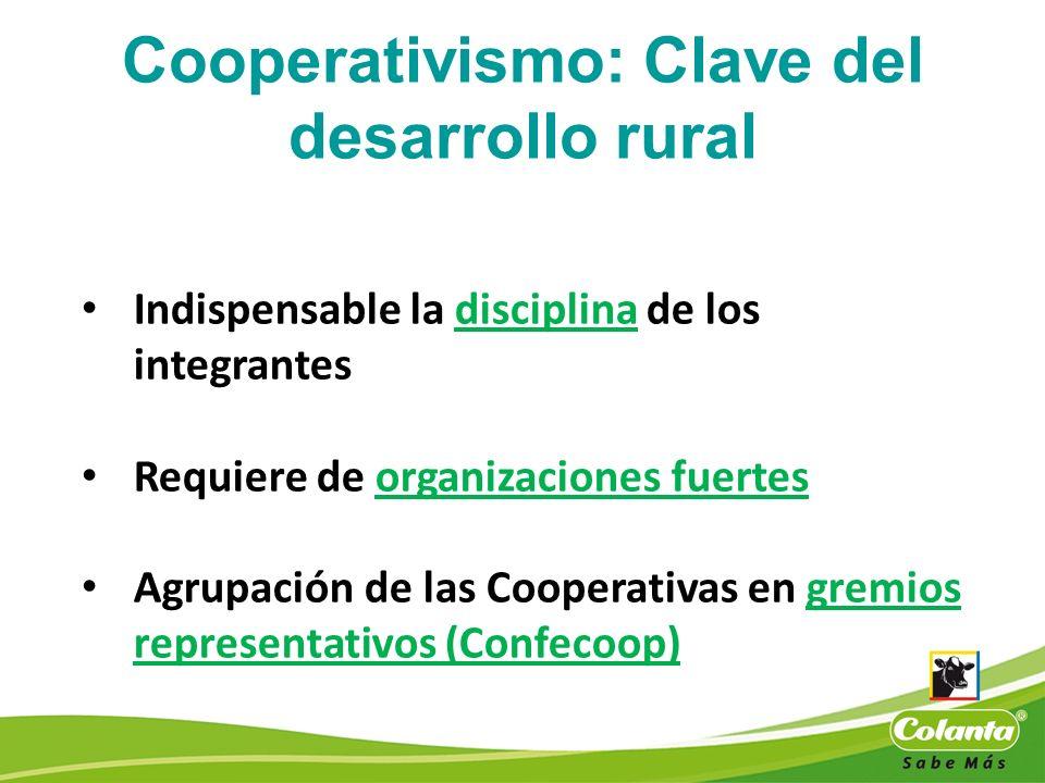 Cooperativismo: Clave del desarrollo rural