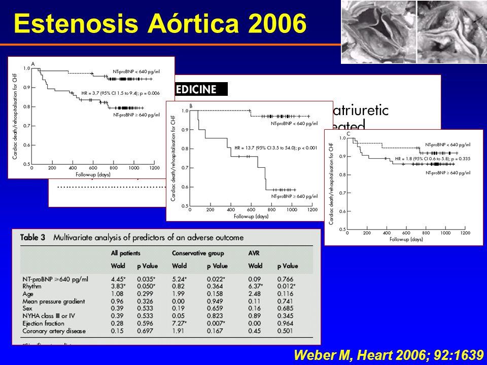 Estenosis Aórtica 2006 Weber M, Heart 2006; 92:1639