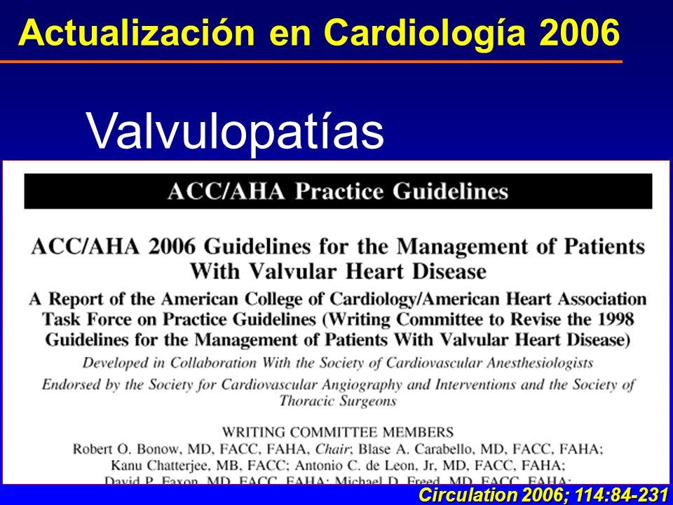 Actualización en Cardiología 2006