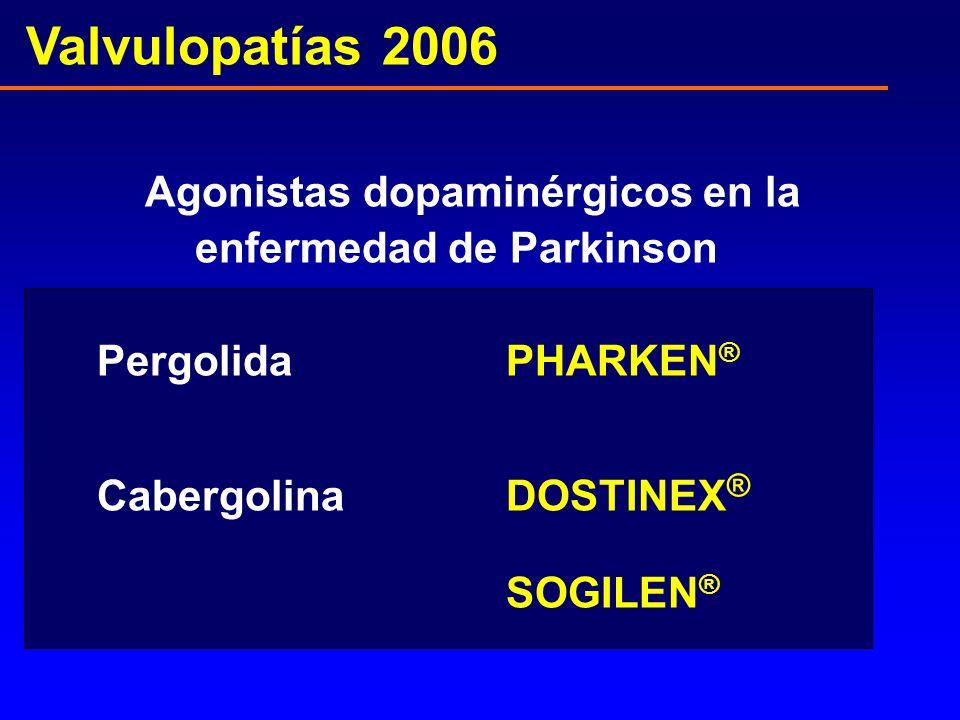 Agonistas dopaminérgicos en la enfermedad de Parkinson