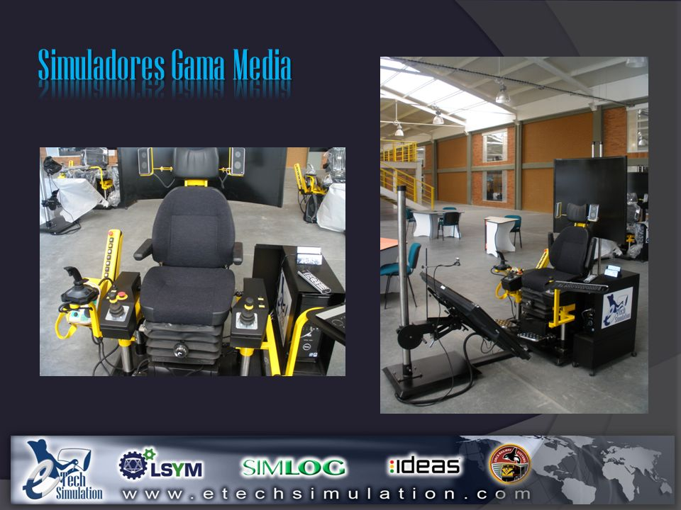 Simuladores Gama Media