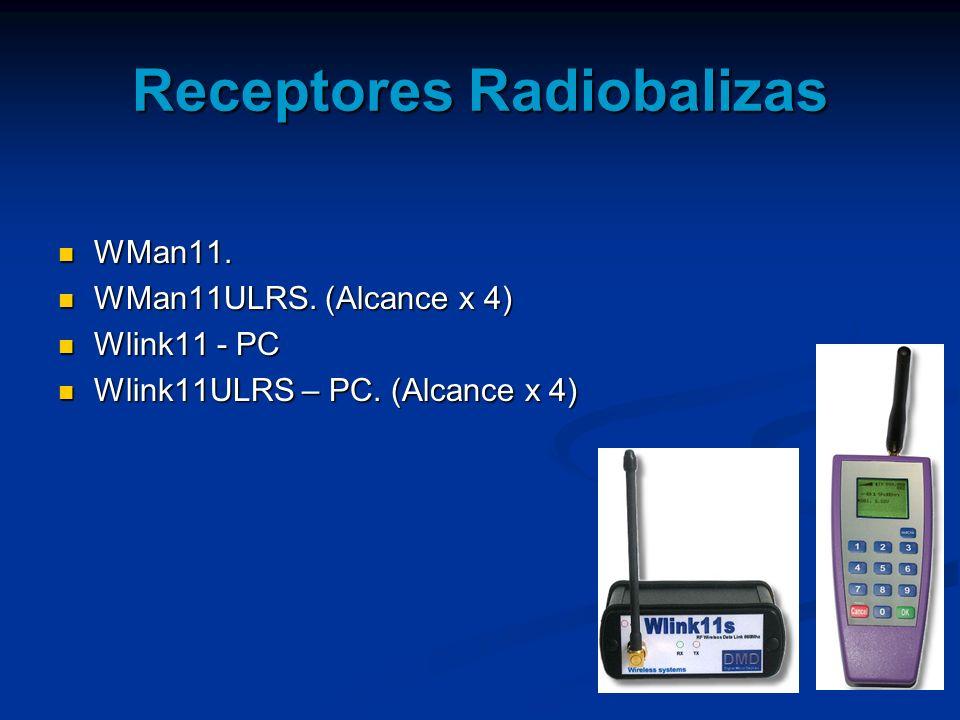 Receptores Radiobalizas