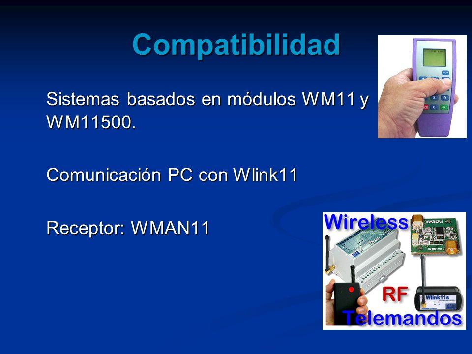 Compatibilidad Sistemas basados en módulos WM11 y WM11500.