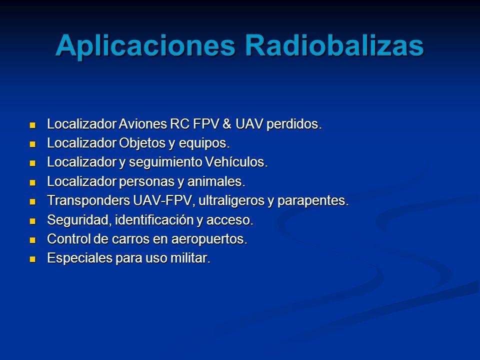 Aplicaciones Radiobalizas
