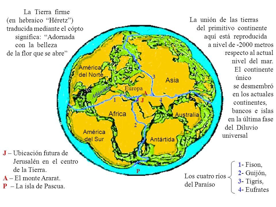 1- Fison, 2- Guijón, 3- Tigris, 4- Eufrates