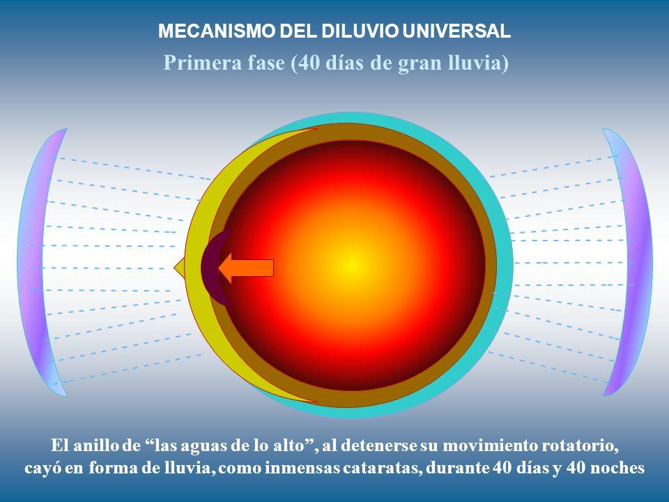 MECANISMO DEL DILUVIO UNIVERSAL