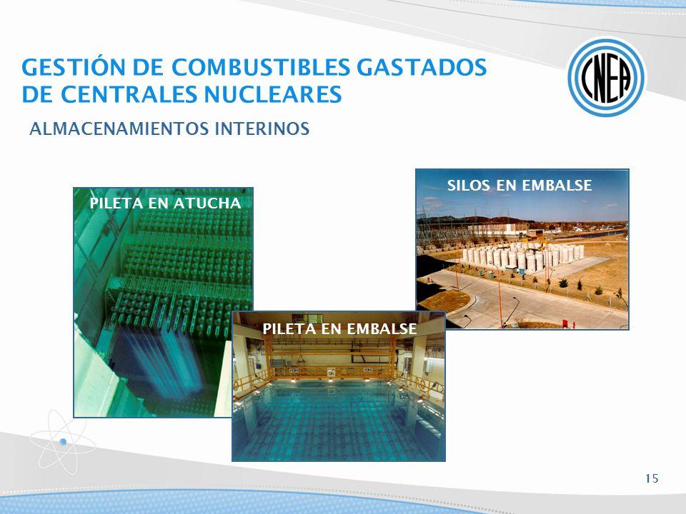 GESTIÓN DE COMBUSTIBLES GASTADOS DE CENTRALES NUCLEARES