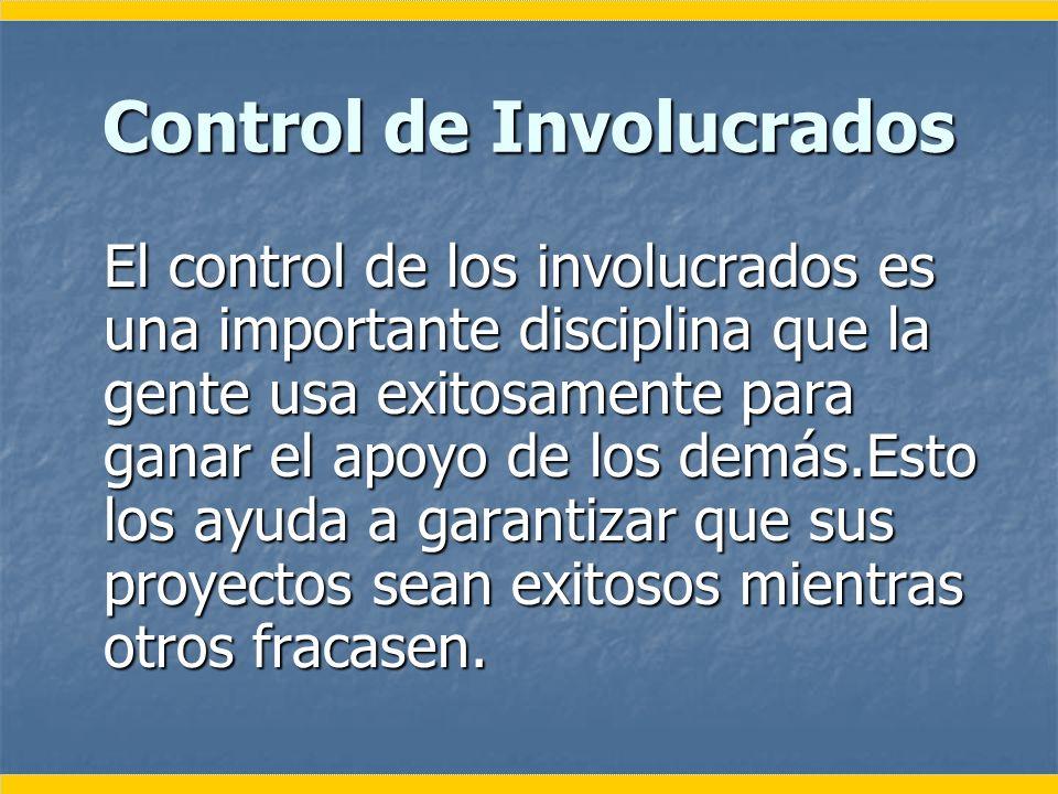 Control de Involucrados