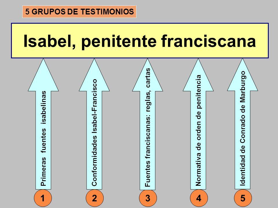 Isabel, penitente franciscana
