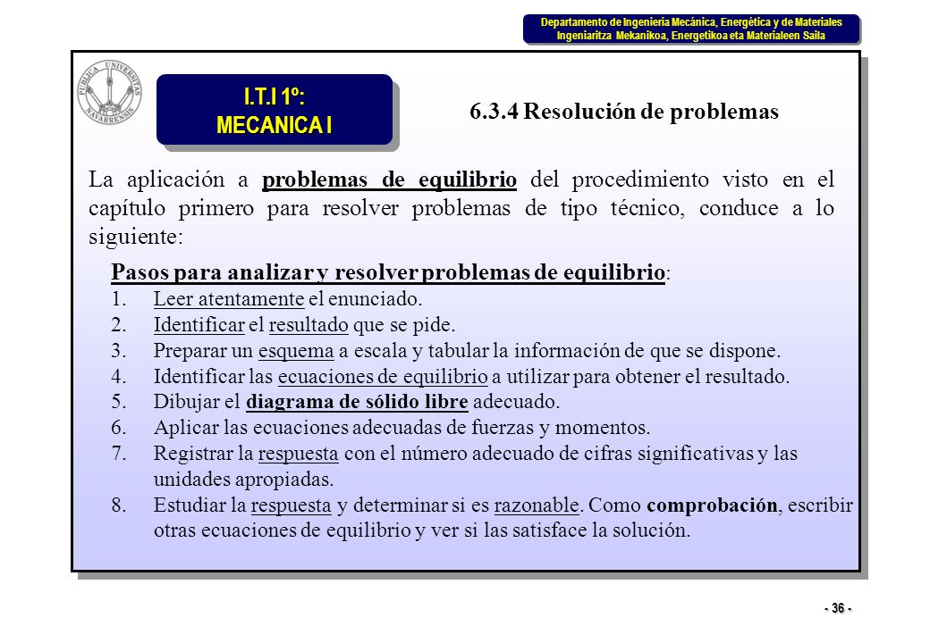6.3.4 Resolución de problemas