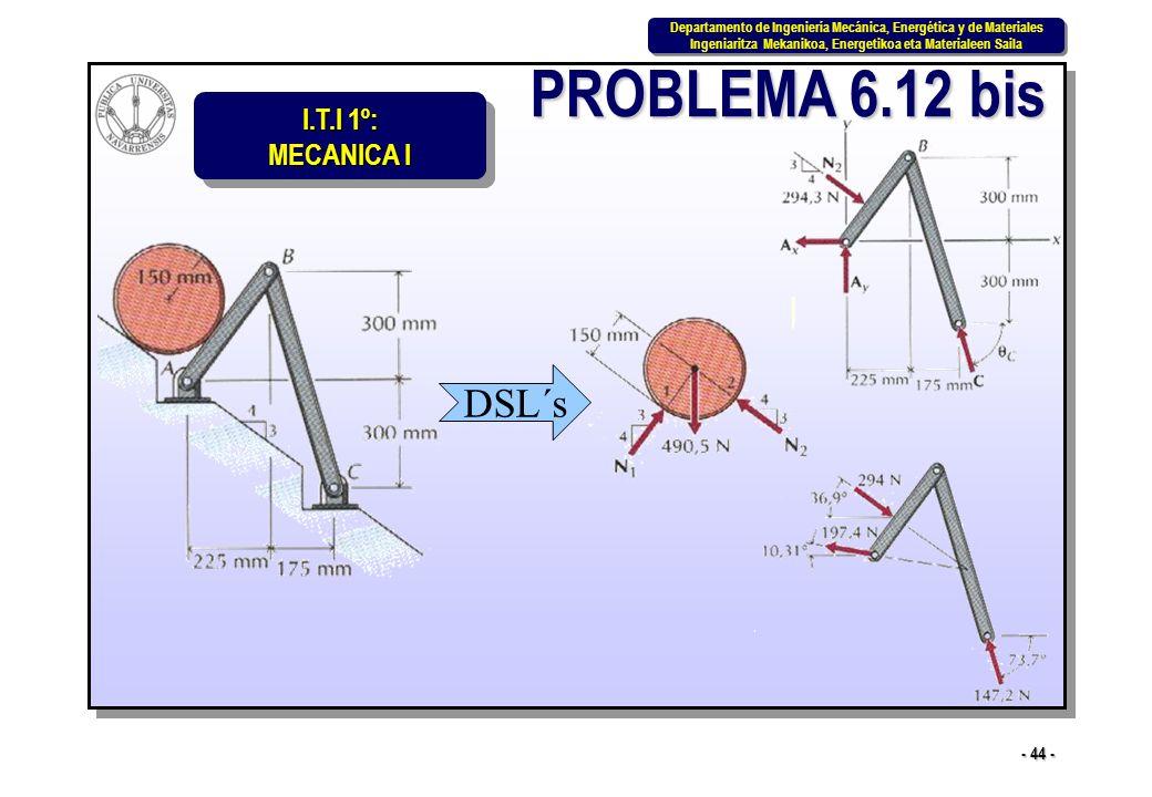 PROBLEMA 6.12 bis DSL´s