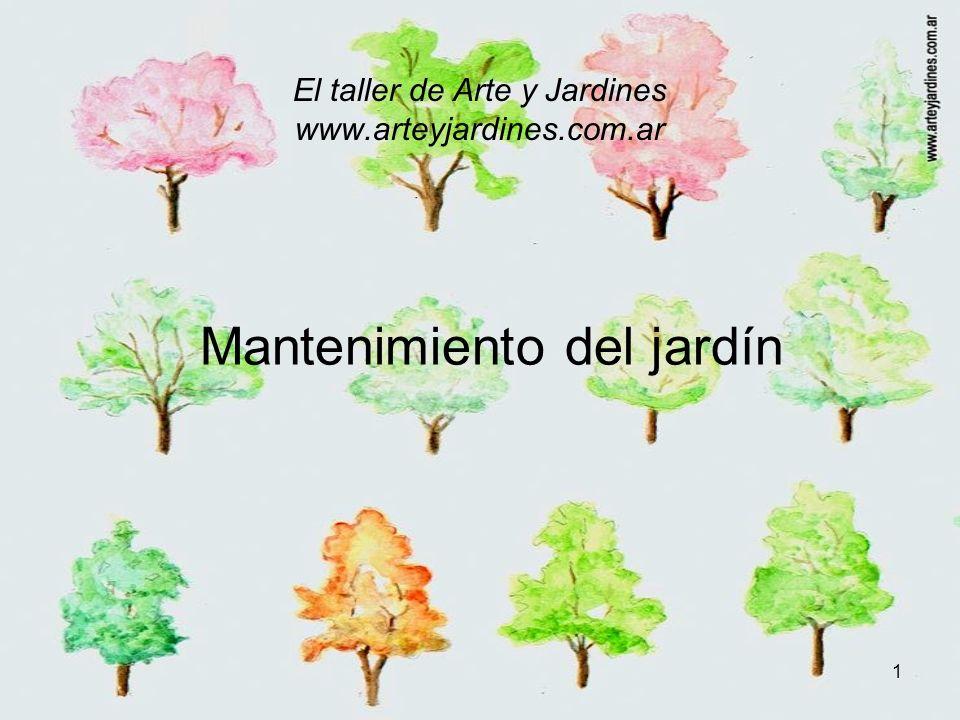 El taller de Arte y Jardines www.arteyjardines.com.ar