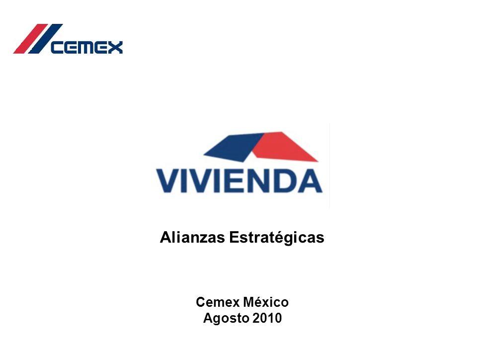 Alianzas Estratégicas Cemex México Agosto 2010