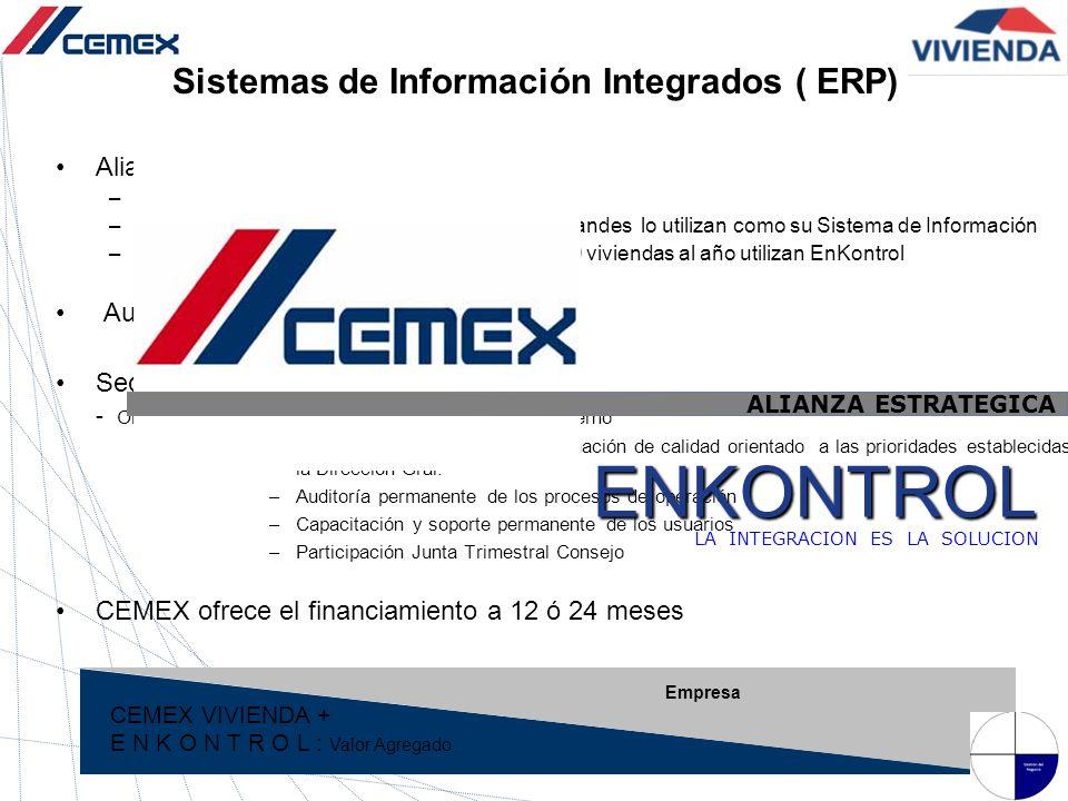 ENKONTROL Sistemas de Información Integrados ( ERP)