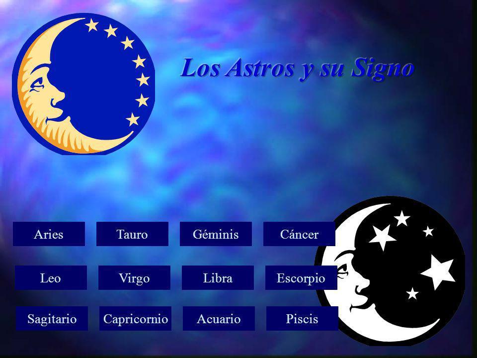Los Astros y su Signo Aries Tauro Géminis Cáncer Leo Virgo Libra
