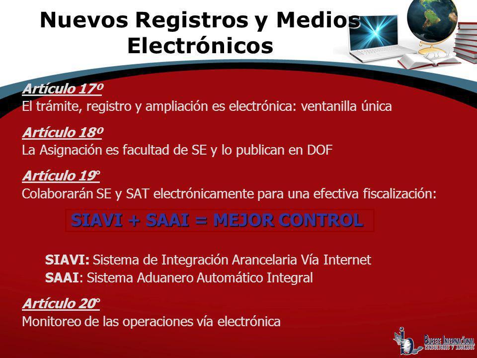 Nuevos Registros y Medios Electrónicos