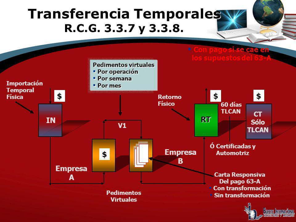Transferencia Temporales R.C.G. 3.3.7 y 3.3.8.