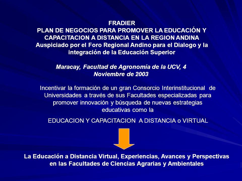 Maracay, Facultad de Agronomía de la UCV, 4 Noviembre de 2003