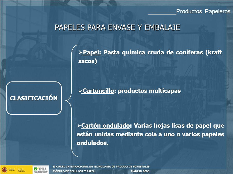 Cartoncillo: productos multicapas