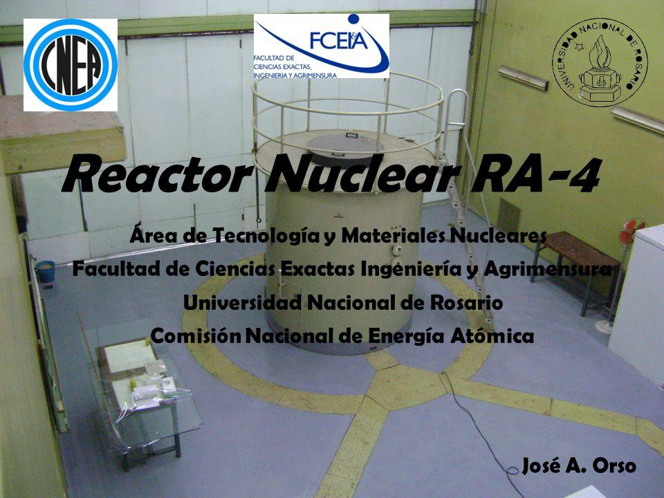 Reactor Nuclear RA-4 Área de Tecnología y Materiales Nucleares