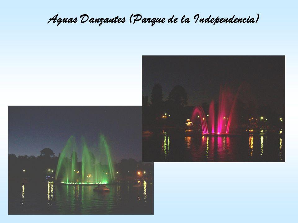 Aguas Danzantes (Parque de la Independencia)