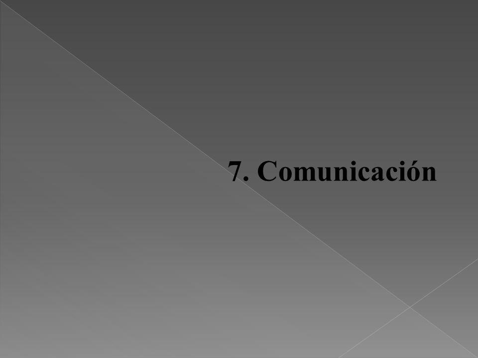 7. Comunicación 31