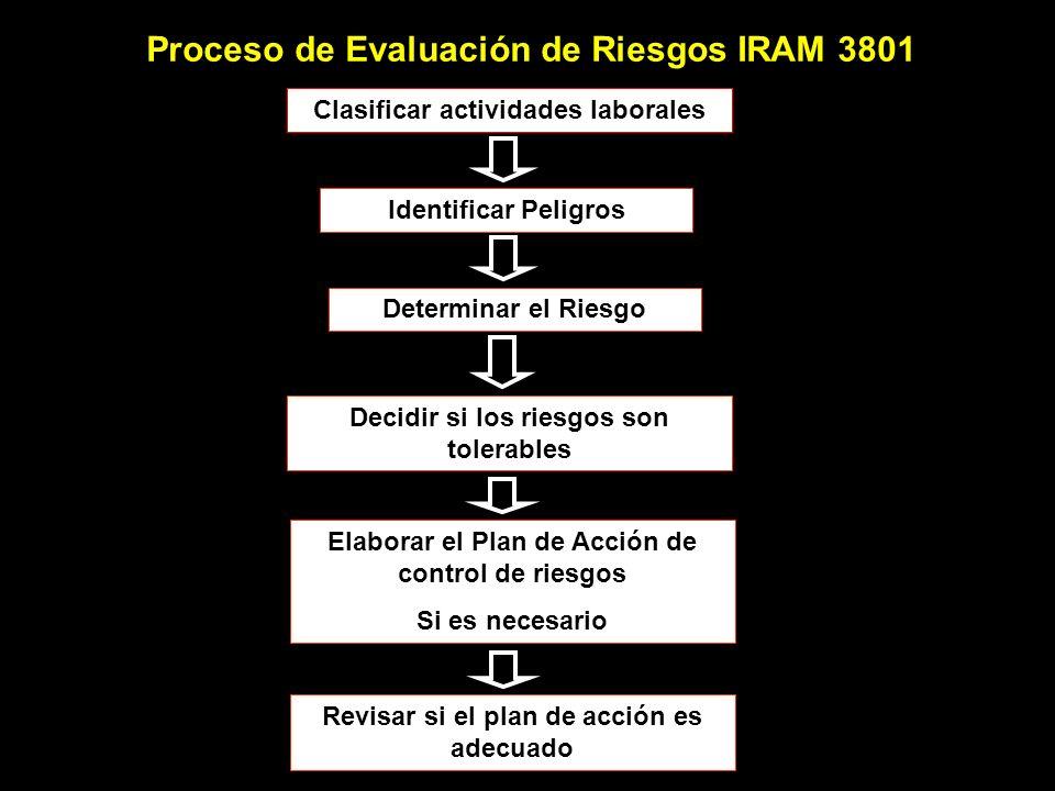 Proceso de Evaluación de Riesgos IRAM 3801