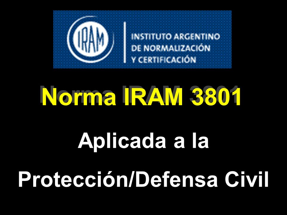 Protección/Defensa Civil
