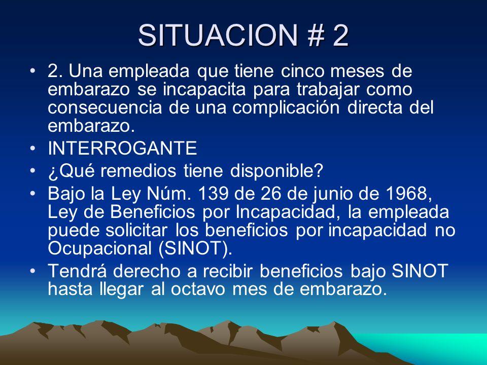 SITUACION # 2