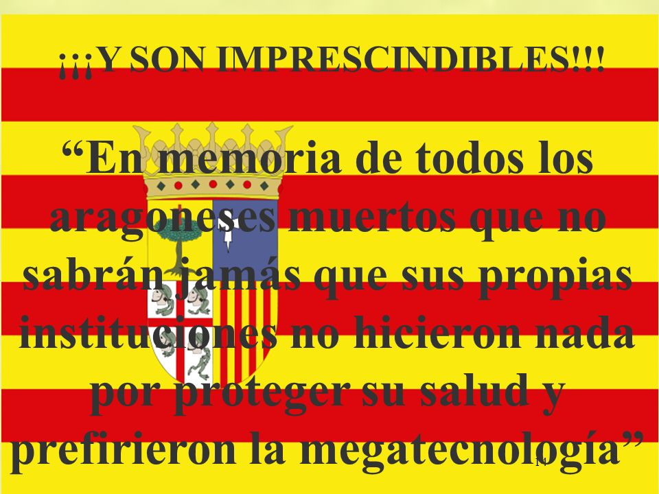 ¡¡¡Y SON IMPRESCINDIBLES!!!