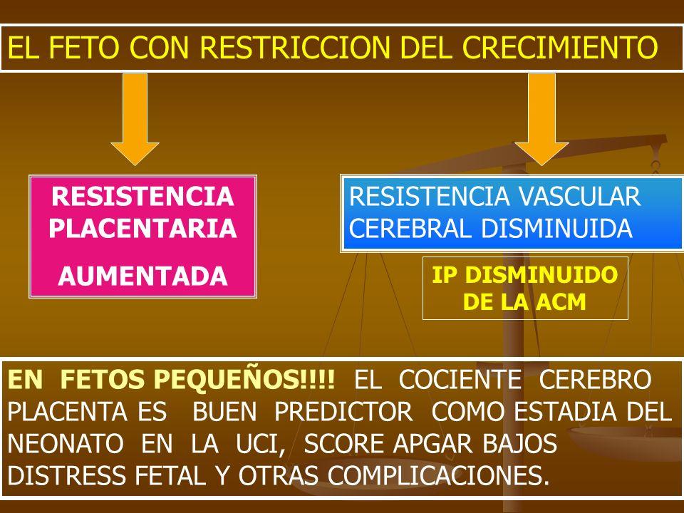 RESISTENCIA PLACENTARIA