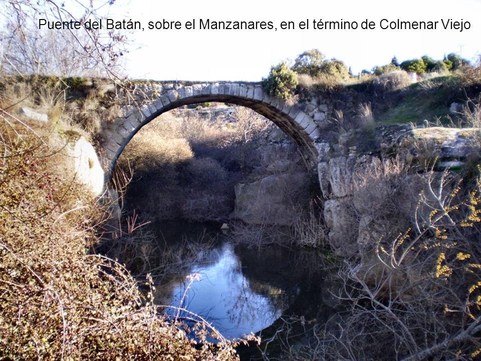 Puente del Batán, sobre el Manzanares, en el término de Colmenar Viejo