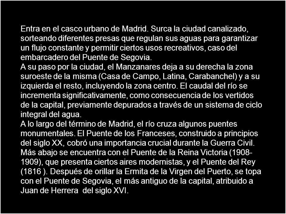 Entra en el casco urbano de Madrid