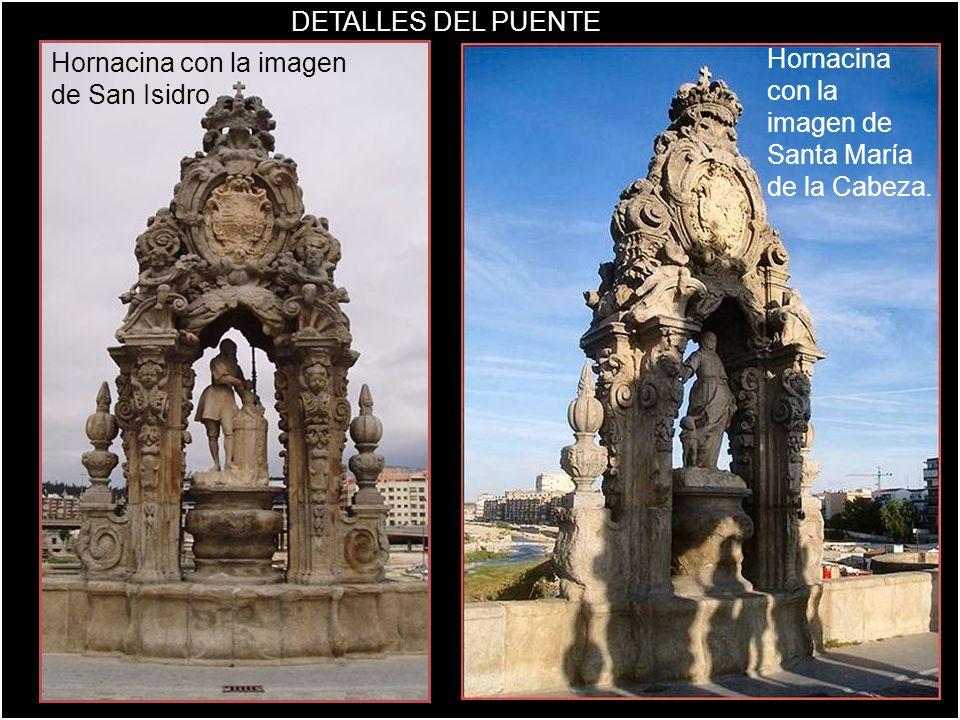 Hornacina con la imagen de San Isidro
