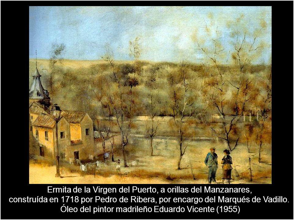 Ermita de la Virgen del Puerto, a orillas del Manzanares,